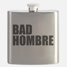 Bad Hombre stacked Flask