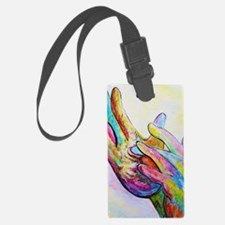 Cute Languages Luggage Tag