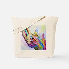 Funny Deaf art Tote Bag