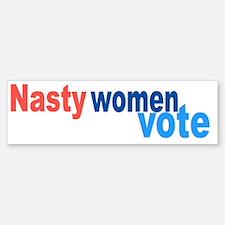 Cute Vote hillary Sticker (Bumper)