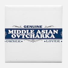 MIDDLE ASIAN OVTCHARKA Tile Coaster