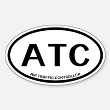 ATC: Air Traffic Controller ( Sticker (Oval 10 pk)