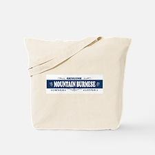 MOUNTAIN BURMESE Tote Bag