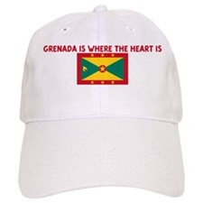 GRENADA IS WHERE THE HEART IS Cap