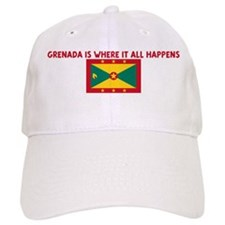 GRENADA IS WHERE IT ALL HAPPE Cap