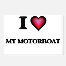 I Love My Motorboat Postcards (Package of 8)