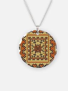 Harvest Moons Navajo Blanket Necklace