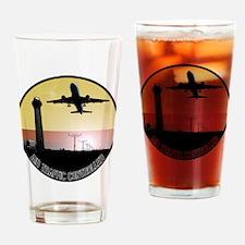 ATC: Air Traffic Control Tower & Plane Drinking Gl