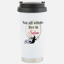 Not All Witches Live In Travel Mug