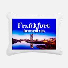 Frankfurt Rectangular Canvas Pillow