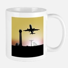 ATC: Air Traffic Control Tower & Plane Mugs