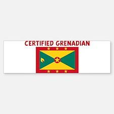 CERTIFIED GRENADIAN Bumper Bumper Bumper Sticker
