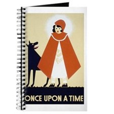 Little Red Riding Hood Journal