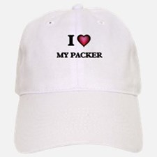 I Love My Packer Baseball Baseball Cap