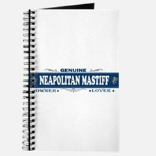 NEAPOLITAN MASTIFF Journal