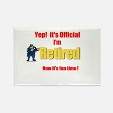 Cop Retirement. :-) Rectangle Magnet