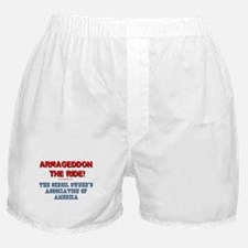 ARMAGEDDON THE RIDE - GERBIL OWNERS A Boxer Shorts
