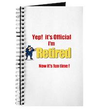 Cop Retirement. :-) Journal