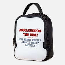 ARMAGEDDON THE RIDE - GERBIL OW Neoprene Lunch Bag