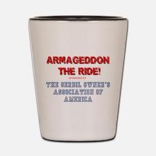 ARMAGEDDON THE RIDE - GERBIL OWNERS ASS Shot Glass