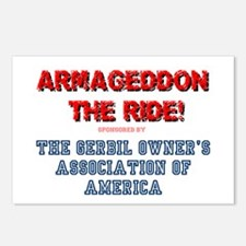 ARMAGEDDON THE RIDE - GER Postcards (Package of 8)
