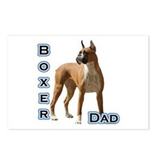 Boxer Dad4 Postcards (Package of 8)
