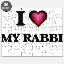 I Love My Rabbi Puzzle