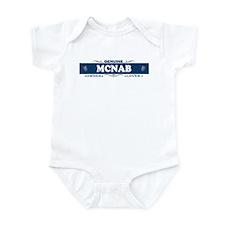 MCNAB Infant Bodysuit