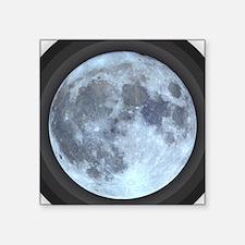 Moon w Rings Sticker