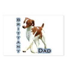 Brittany Dad4 Postcards (Package of 8)