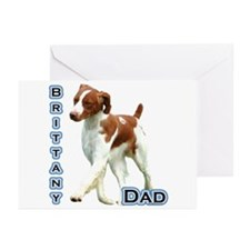 Brittany Dad4 Greeting Cards (Pk of 10)