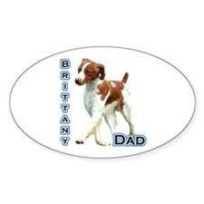 Brittany Dad4 Oval Decal