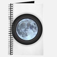 Moon w Rings Journal