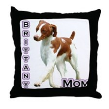 Brittany Mom4 Throw Pillow
