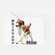 Brittany Mom4 Greeting Card