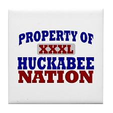 Huckabee Nation Tile Coaster