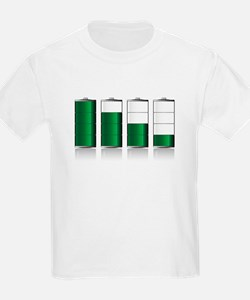 Battery Charge Indicator T-Shirt