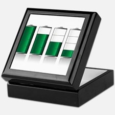 Battery Charge Indicator Keepsake Box