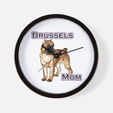 Brussels Mom4 Wall Clock