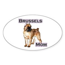 Brussels Mom4 Oval Decal