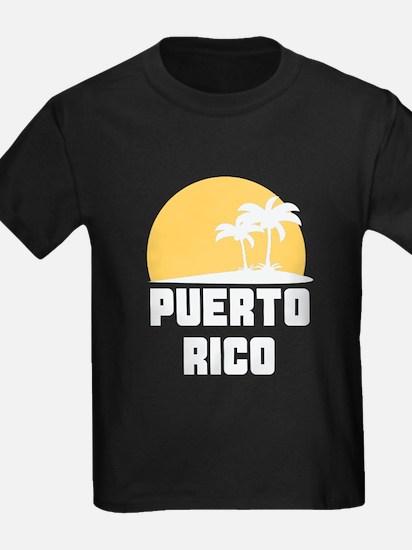 Palm Trees Puerto Rico T-Shirt T-Shirt