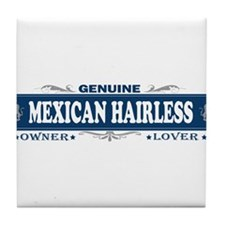 MEXICAN HAIRLESS Tile Coaster