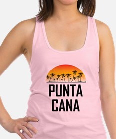 Punta Cana Sunset Racerback Tank Top
