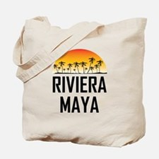Riviera Maya Sunset Tote Bag