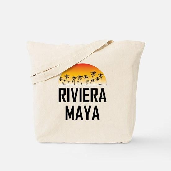 Riviera Maya Sunset Tote Bag
