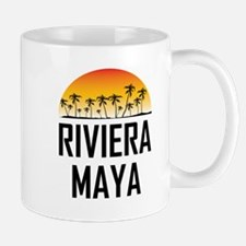 Riviera Maya Sunset Mugs