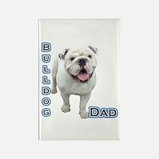 Bulldog Dad4 Rectangle Magnet