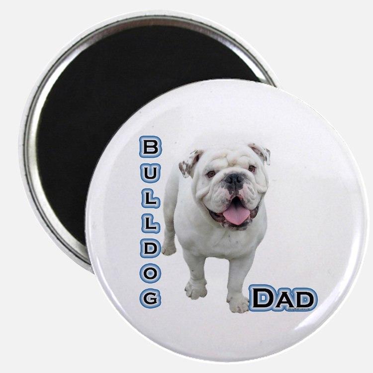 """Bulldog Dad4 2.25"""" Magnet (100 pack)"""