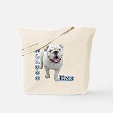 Bulldog Dad4 Tote Bag