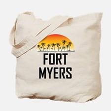Fort Myers Sunset Tote Bag